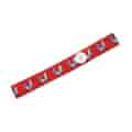 """Elastic Stretch Headband 1"""" with Buttons for Mask Loops"""