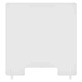 """23 1/2""""W x 31 1/2""""H Counter Shields with Open Slot"""