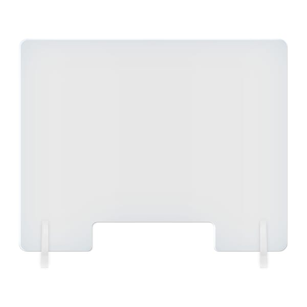 """23 1/2""""W x 23 1/2""""H Counter Shields with Open Slot"""