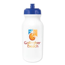 20 oz MicroHalt Value Cycle Bottle, Full Color Digital