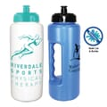 Antimicrobial on bottles and lids