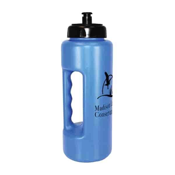 32 oz MicroHalt Grip Bottle with Push 'n Pull Cap