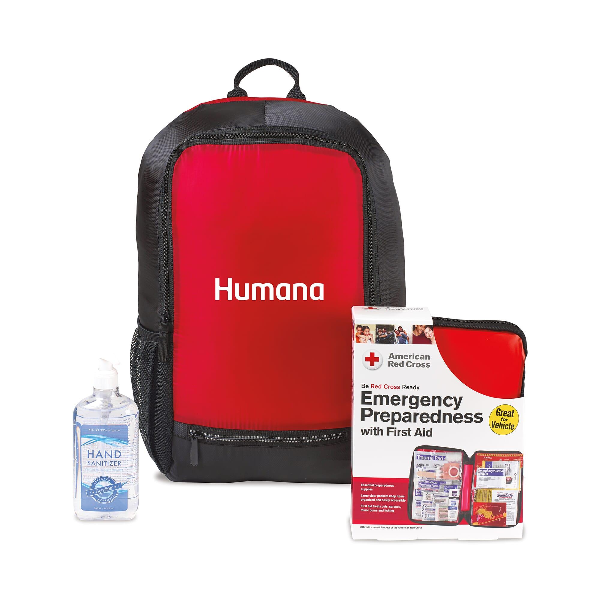 American Red Cross Preparedness Backpack Bundle