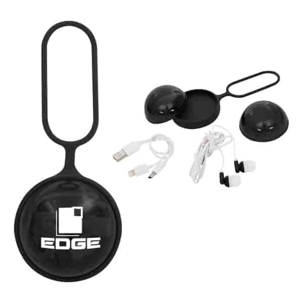 3-in-1 Charging Cable and Earbuds Ball