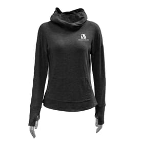 Ladies' Aegis® Antimicrobial Treated Hoodie with Face Covering
