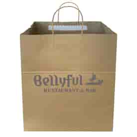 Tamper Evident Take Out and Delivery Bag