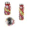 18 oz Zigoo Silicone Collapsible Bottle - Tie Dye