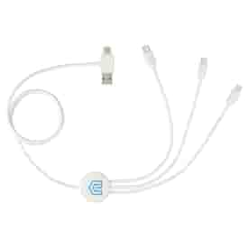 5-in-1 Charging Cable with Antimicrobial Additive