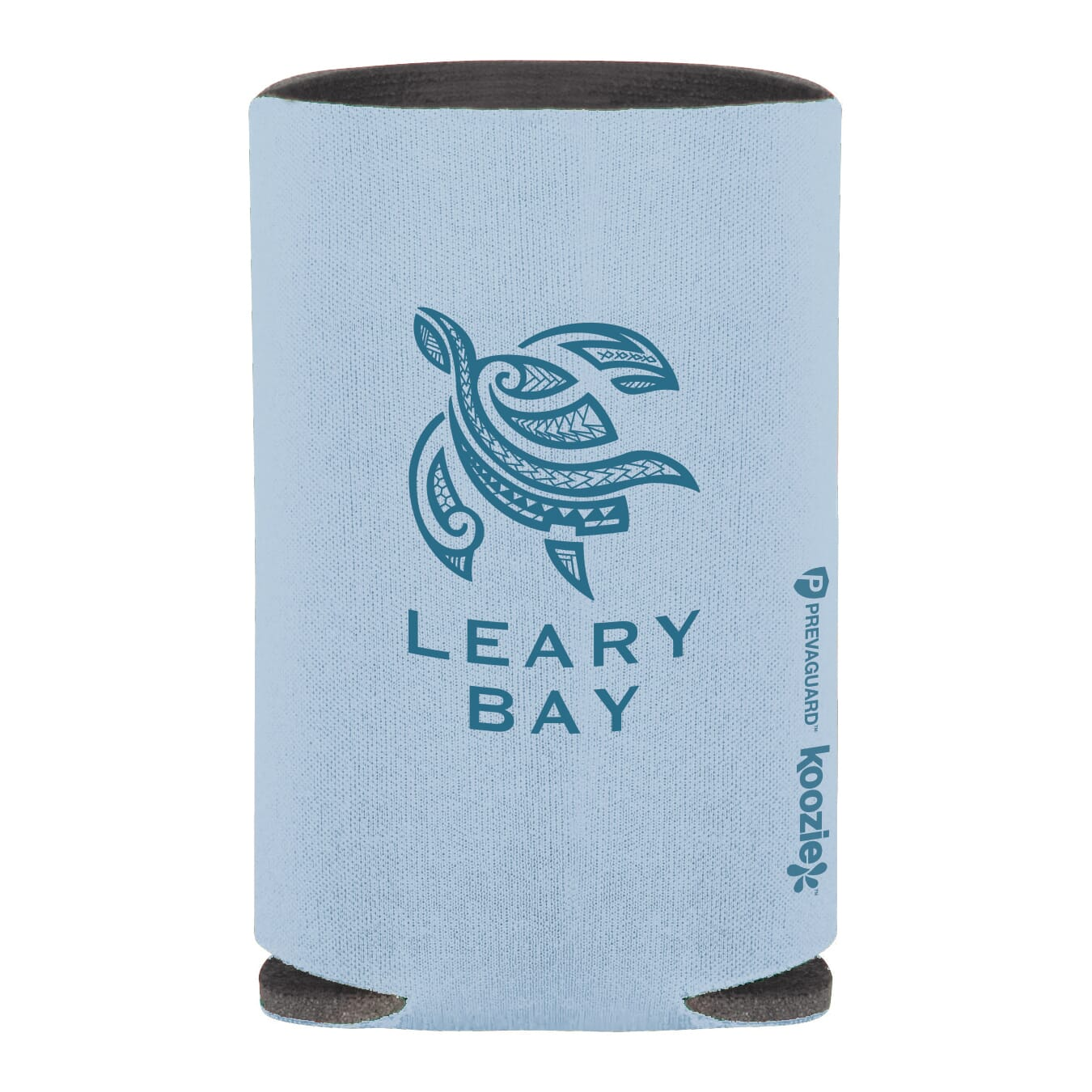 Light blue koozie can kooler