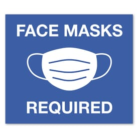 12 X 14 Rect Stock Masks Required Wall Decal