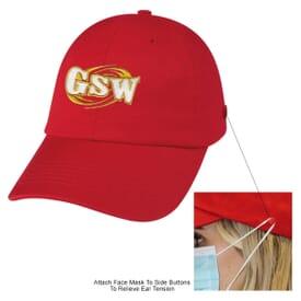 Washed Cotton Mask Cap