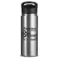 18 oz Columbia® Double-Wall Vacuum Bottle with Sip-Thru Top