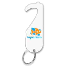 Touchless Infusion Keychain without Hole Handle