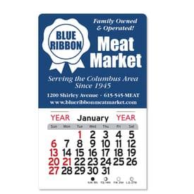 2021 Adhesive Peel-N-Stick® Square Calendar