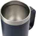 No cover top view of mug