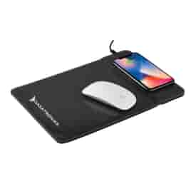 Wireless Charging Mousepad w/ Phone Stand