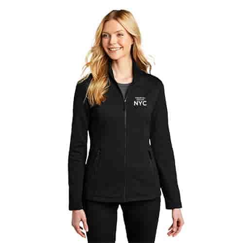 Ladies Port Authority® Grid Fleece Jacket
