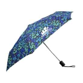 Fashion Print Auto Open and Close Compact Umbrella