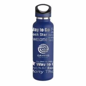 20 oz Basecamp® Tundra Bottle - Rockstar - Laser Engraved