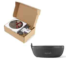 W&P Porter Bowl- Ceramic Deluxe Lunch Gift Set