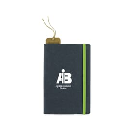 Recycled Bonded Leather Harcover Notebook