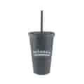 16 oz Everyday Wheat Straw Fiber Cup with Straw