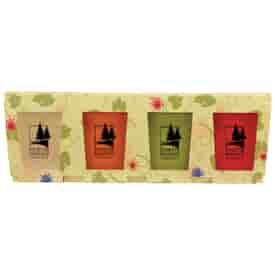 Promo Planter, 4-Package Planter Set