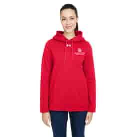 Ladies' Under Armour® Hustle Pullover Hooded Sweatshirt