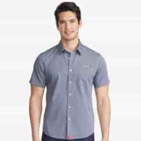 Men's UNTUCKit® Petrus Wrinkle-Free Short Sleeve Shirt