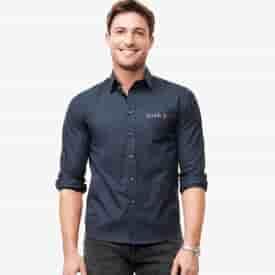 Men's UNTUCKit® Castello Wrinkle-Free Long Sleeve Shirt