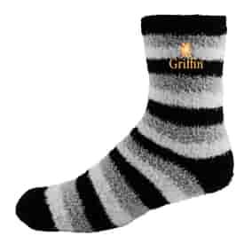 Fashion Fuzzy Feet Crew Socks