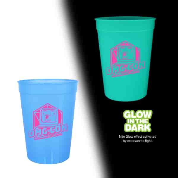 12 oz Nite Glow Stadium Cup