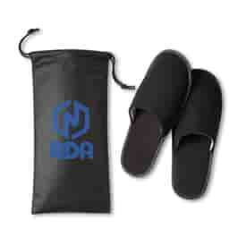 Travel Slippers in Pouch